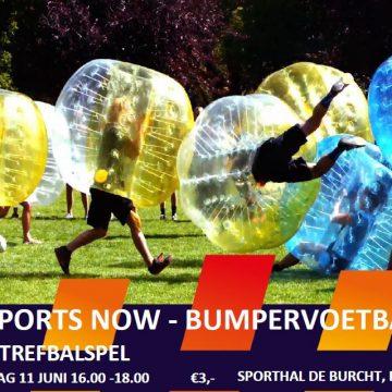 SportsNow: Bumpervoetbal voor jeugd 13 t/m 18 jaar