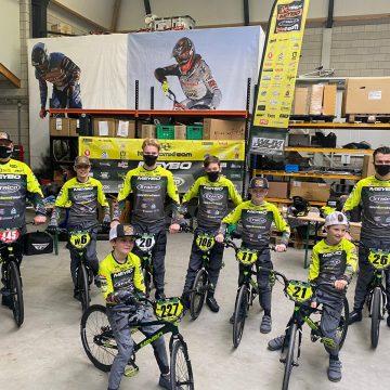 FCV Talent BMX Team uit Handel neemt deel aan eerste BMX-wedstrijd in afdeling Zuid