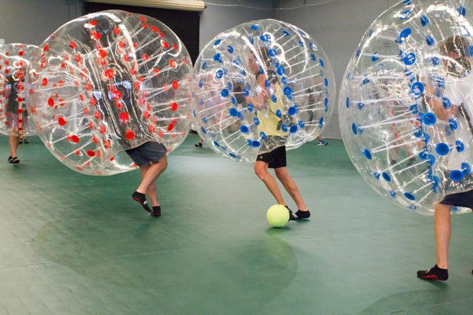 SportsNow: Bumpervoetbal, Tumbling Trefbal, Archery Attack! vrijdag 9 juli