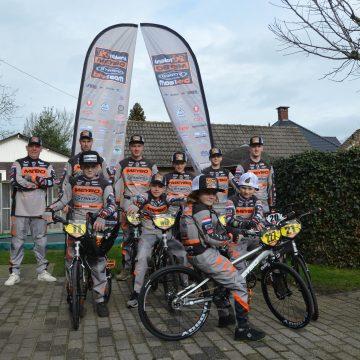 Talent BMX Team uit Handel neemt deel aan Europees kampioenschap BMX in Zolder (België)
