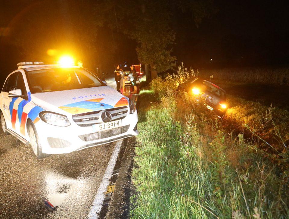 Ongeval op Erpseweg, bestuurder aangehouden