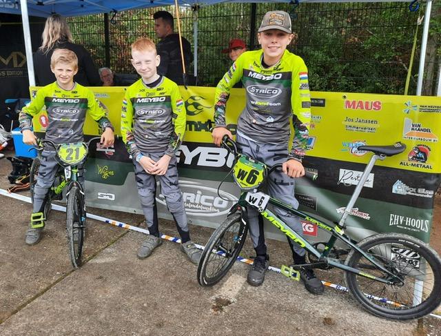 Talent BMX Team uit Handel bij Topcompetitie in Uithoorn