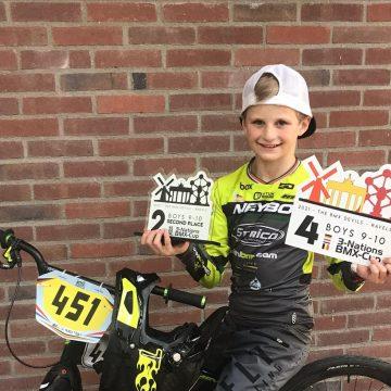 Talent BMX Team uit Handel deelnemer aan 3-Nations BMX Cup in Ravels (België)