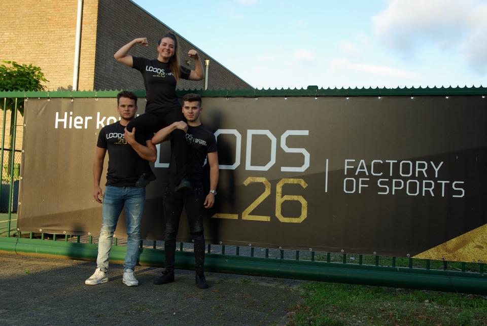 Nieuwe sport locatie LOODS_26 opent medio oktober haar deuren