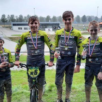 Mooie resultaten van het Talent BMX Team uit Handel in Tiel